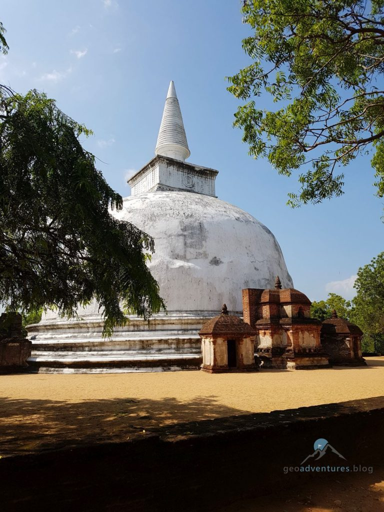 Geocaching Polonnaruwa Sri Lank