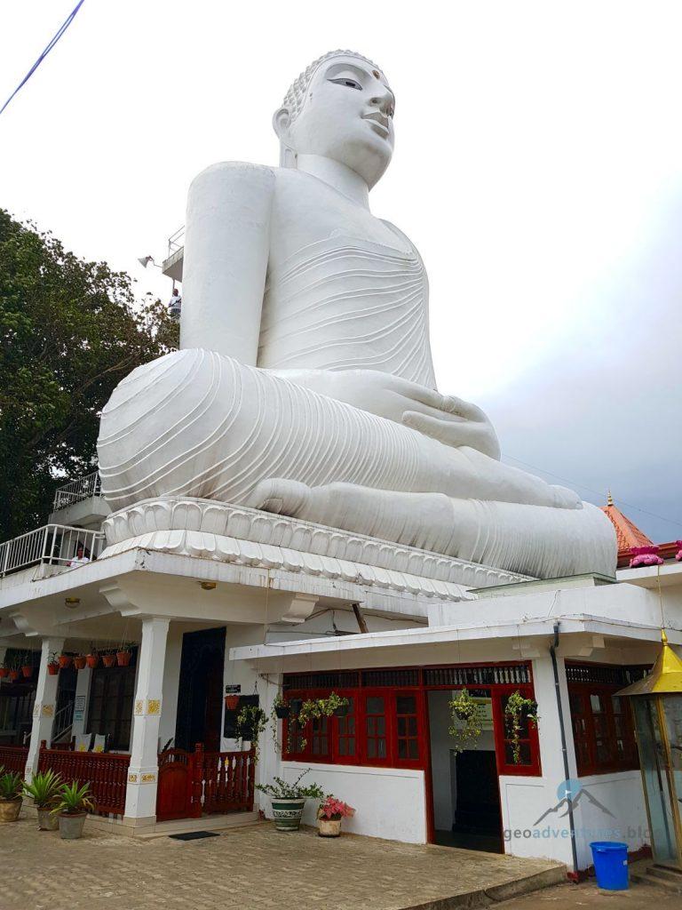 Geocaching Sri Lanka Kandy Buddha Zahntempel