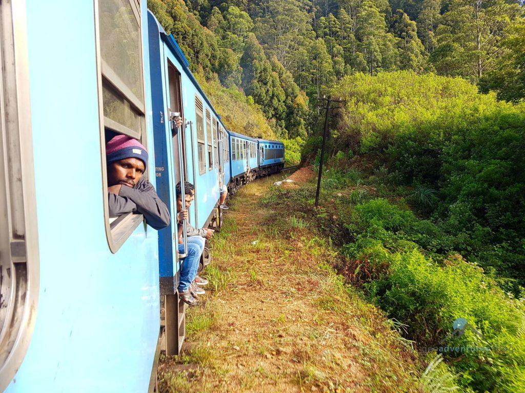 Geocaching Sri Lanka Zug Ella nach Kandy