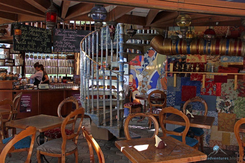 Teahouse Riga innen
