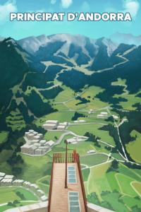 Geocaching Souvenir Andorra