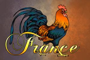 Geocaching Souvenir Frankreich