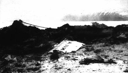 Pyramiden Spitzbergen Svalbard Geocaching Flugzeugabsturz