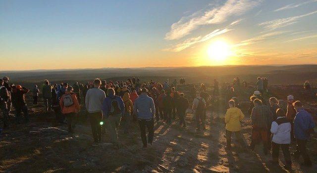 Wenn die Sonne niemals untergeht – Beim Midnight Sun Geocaching 2019 in Finnland