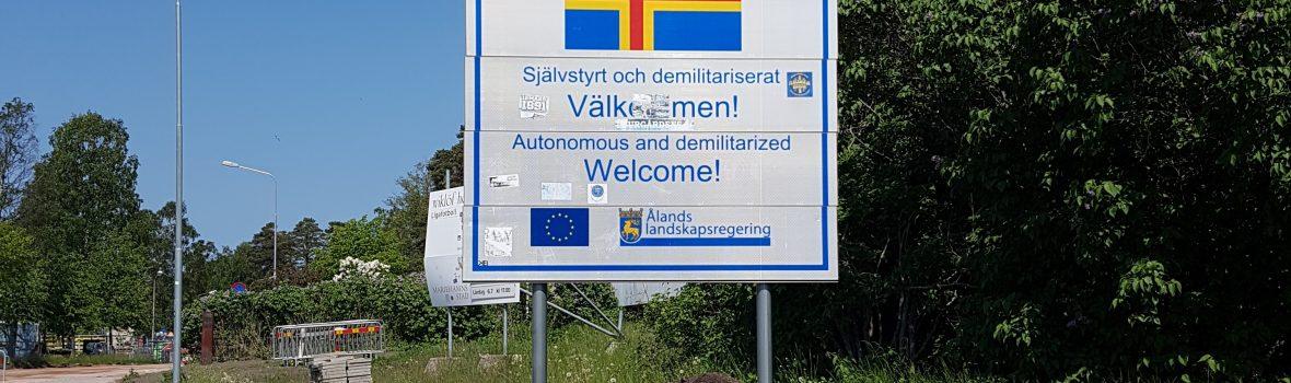 Åland – Zankapfel zwischen Finnland und Schweden und ein äußerst seltener Länderpunkt