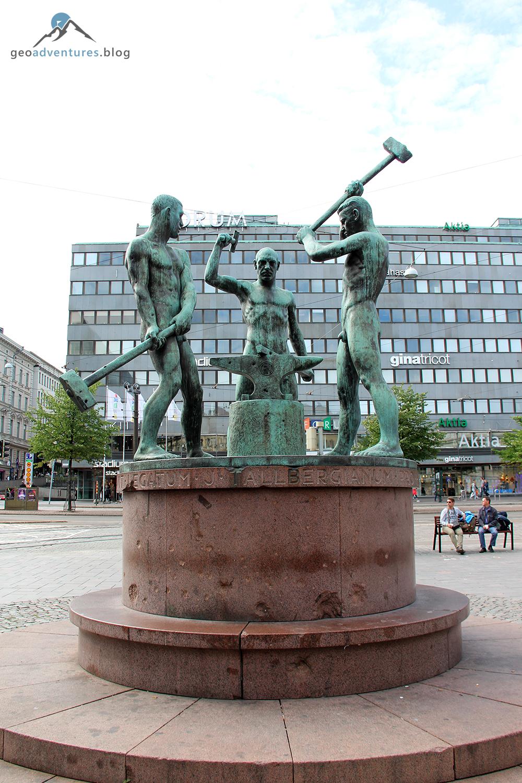 Drei Schmiede / Three Blacksmiths