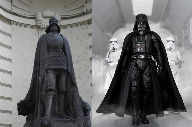 Vergleich Eiserner Ritter und Darth Vader