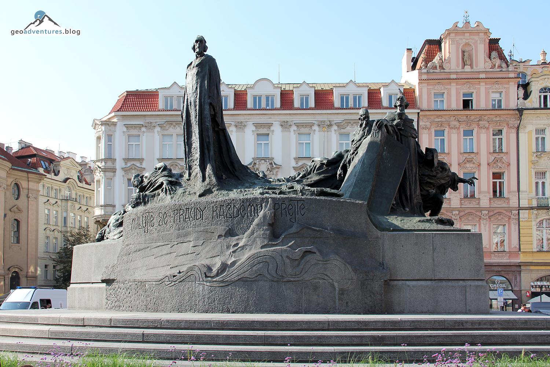 Prag Jan Hus Denkmal