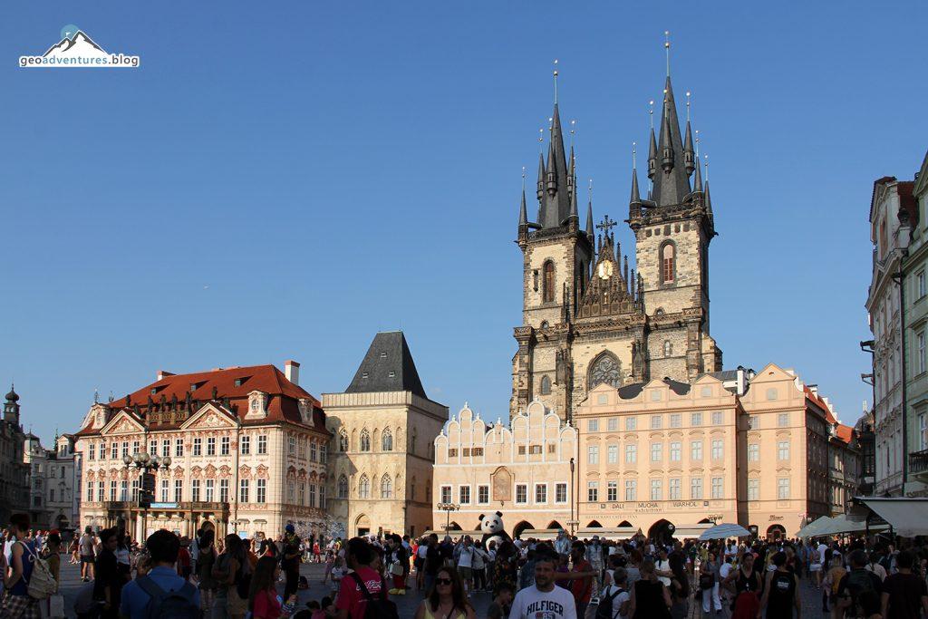 Prag Zentraler Marktplatz