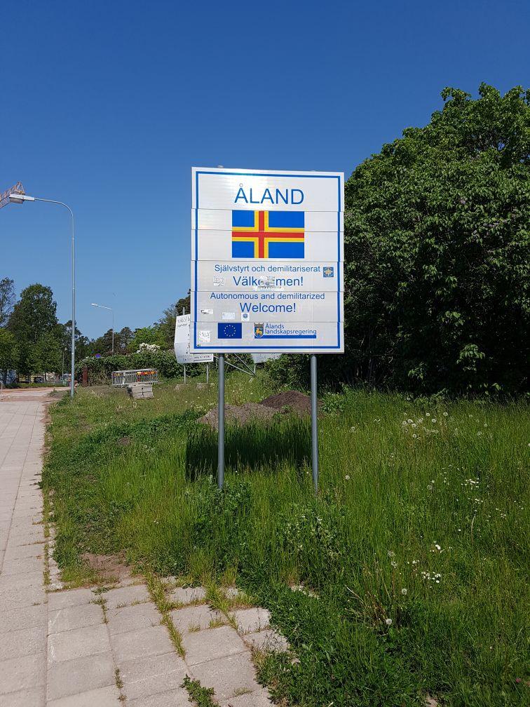 Geocaching in Åland - Willkommen