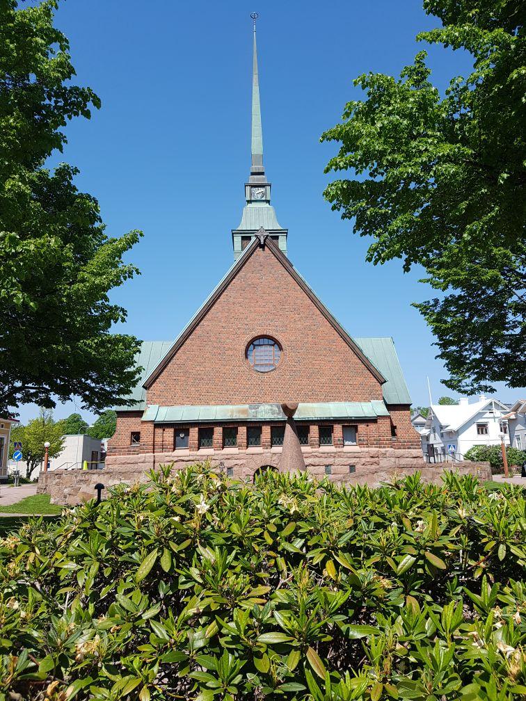 Geocaching in Åland - St Görans kyrka