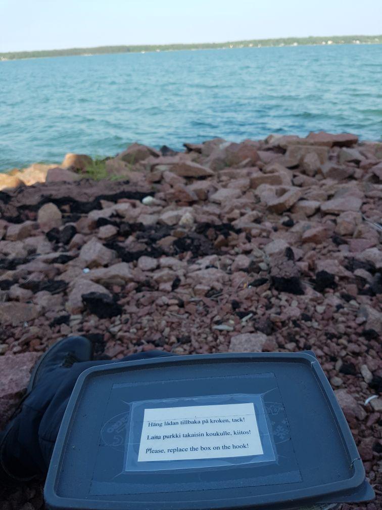 Geocaching in Åland - Maritimes Viertel