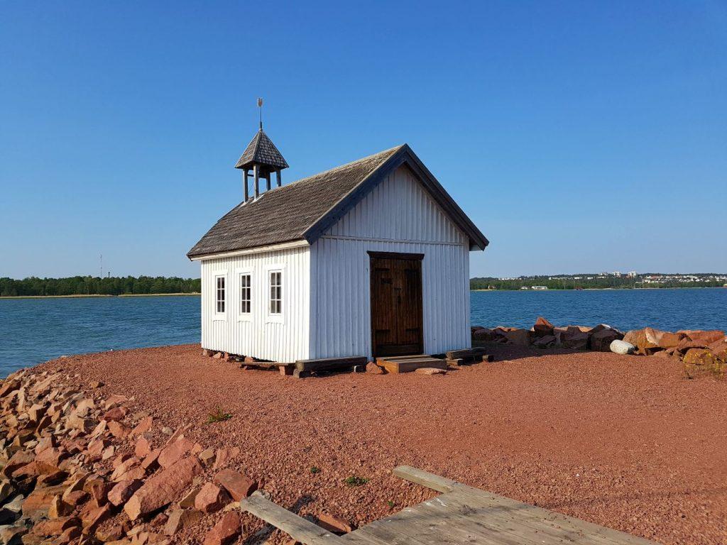 Geocaching in Åland - Seefahrerkapelle