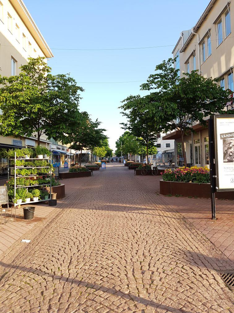 Geocaching in Åland - Fußgängerzone