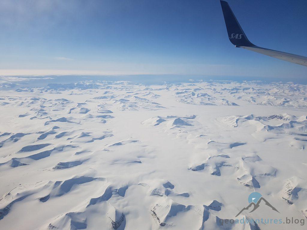 Geocaching in Spitzbergen - Flugzeug III