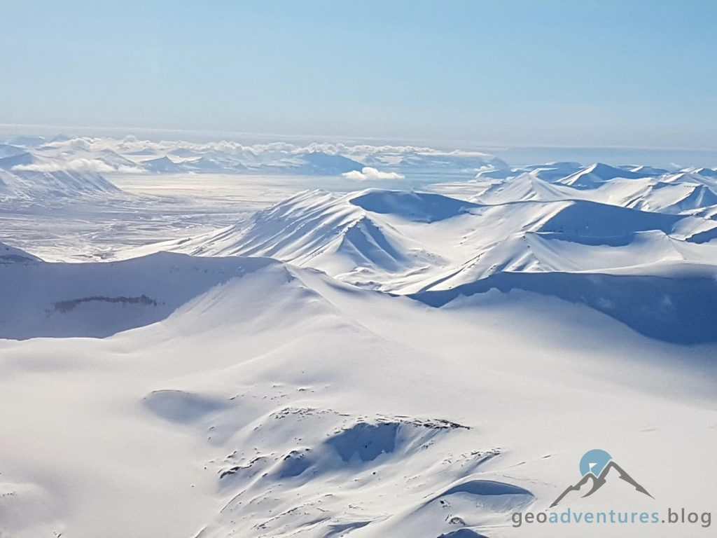 Geocaching in Spitzbergen - Flugzeug II