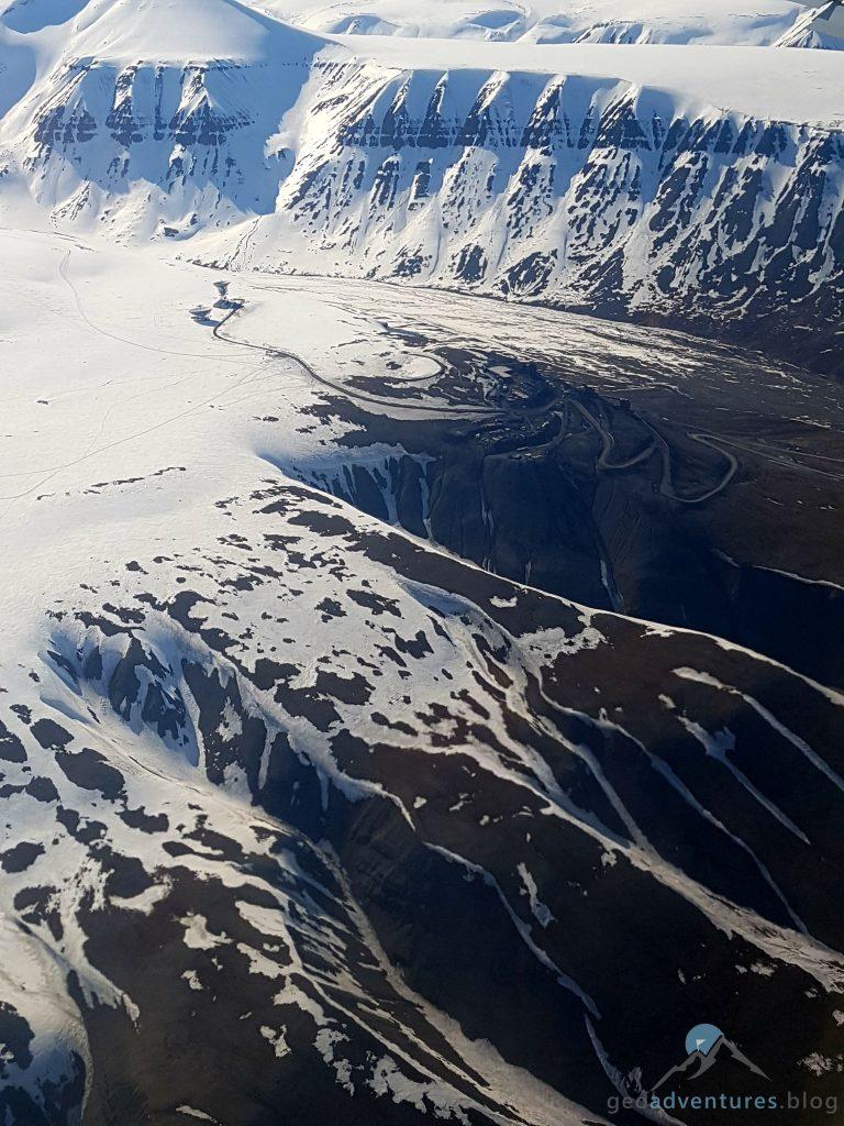 Geocaching in Spitzbergen - Flugzeug