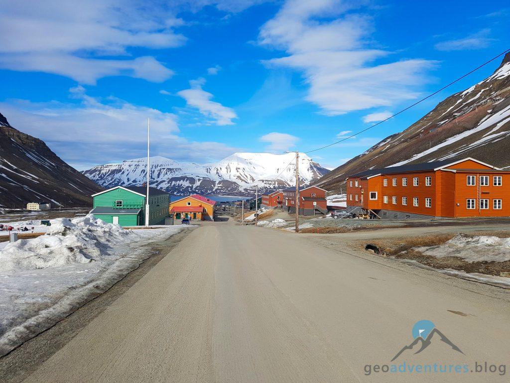 Geocaching in Spitzbergen - Longyearbyen/Nybyen