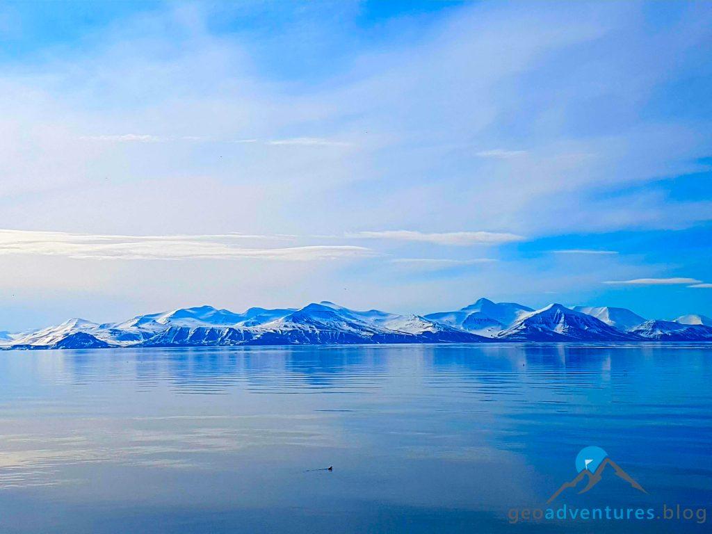 Geocaching auf Spitzbergen - Polar Girl, Eisberge, Earthcache IV