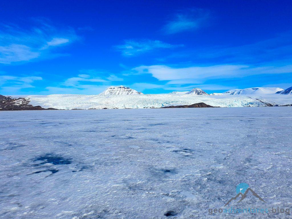 Geocaching auf Spitzbergen - Polar Girl, Eisberge, Earthcache VII