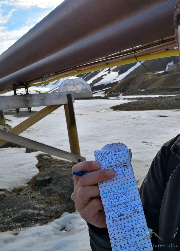 Geocaching in Spitzbergen - Nybyen III