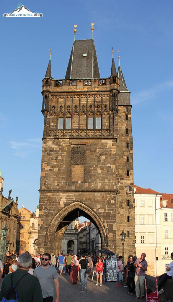 Turm der Karlsbrücke