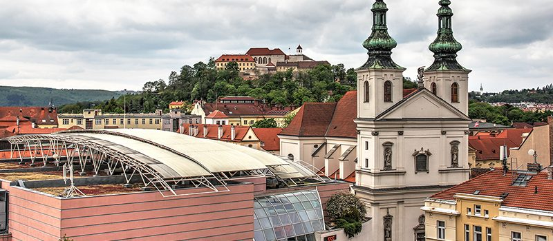 Brno / Brünn – Geocaching mit einem legendären Drachen, Gruselfaktor und Bunkerfeeling