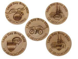 In Tschechien sindWoodcoins sehr populär. Auch zu dem MEGA-Event am Leap Day 2020 bekommt ihr diese und habt sicher die Gelegenheit auch Coins zu tauschen.